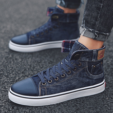 GUDERIAN High Top Shoes Men Comfortable Lace-Up Men Flat Shoes Breathable Mens Sneakers Casual Canvas Shoes Men Calzado Hombre mycolen 2018 new arrival fashion leisure white shoes men sneaker shoes lace up cross strap shoe breathable calzado hombre