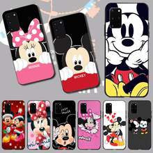 PENGHUWAN Mickey Minnie Mouse Coque Shell Phone Case for Samsung S20 plus Ultra S6 S7 edge S8 S9 plus S10 5G(China)