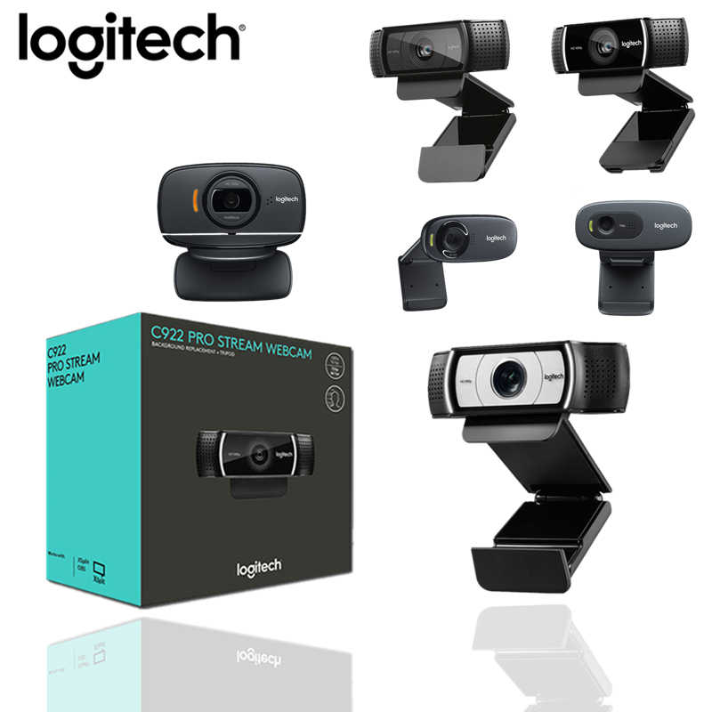 Logitech C920e HD Webcam Video Rekaman Kamera USB C922/C270/C930C HD 1080 P Kamera Web untuk Komputer Built-In Micphon