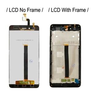 Image 3 - Pantalla LCD de 5,0 pulgadas con marco para ZTE Nubia Z11 mini NX529J, montaje de digitalizador con Sensor táctil, nueva