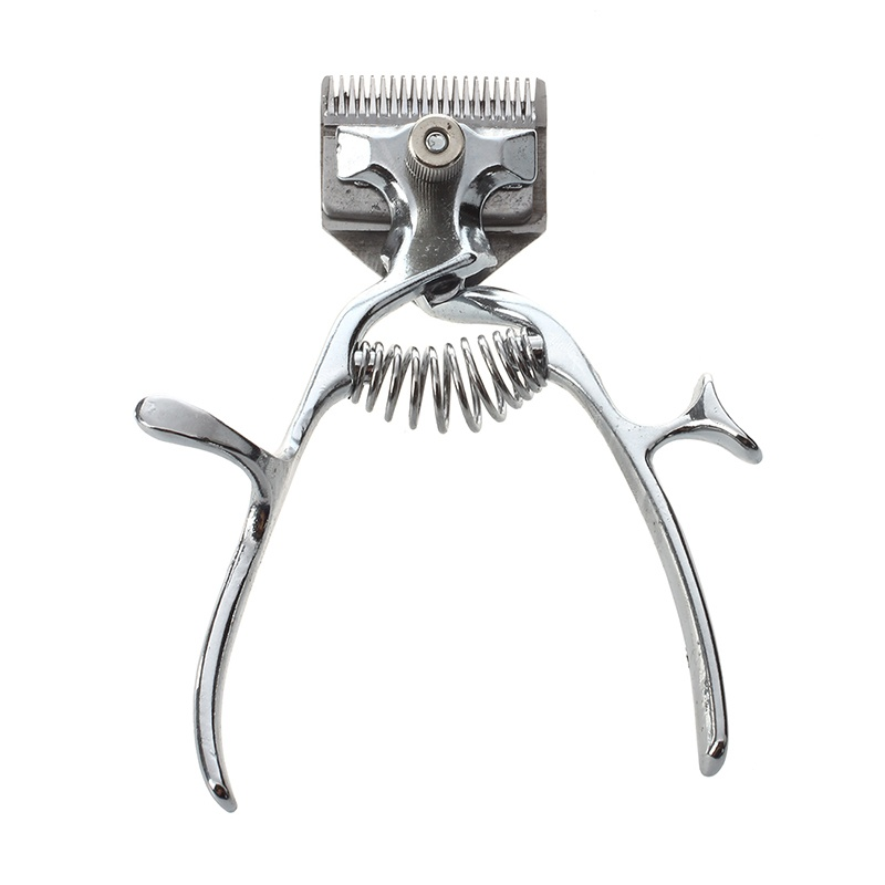 Old Fashion Manual Clipper Haircut Hand Push Low Noise Non Electric Hair Cutter|Hair Trimmers| |  - title=