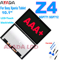 10.1'' LCD for Sony Xperia Tablet Z4 SGP712 SGP771 LCD Display Touch Screen Digitizer Assembly for Sony Z4 Lcd Display