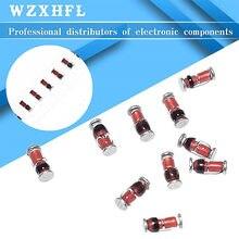 100pcs/lot ZMM 2V 3V 3V3 3V9 4V7 5V1 7V5 8V2 10V 12V 15V 16V 18V 20V 24V 30V LL34 SMD Zener diode package 1/2W 0.5w Zener Diode