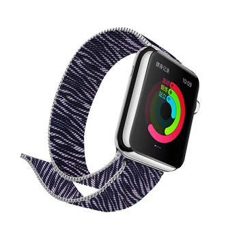 Milanese Printing Band for Apple Watch 5