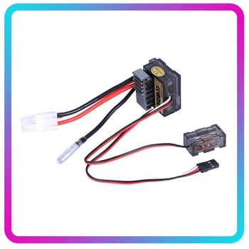 цена на 320A Brushed Motor Speed Controller ESC Regulator ESC Electronic Speed Controller for HSP 320A RC Car 1/8 1/10 Truck Buggy Boat