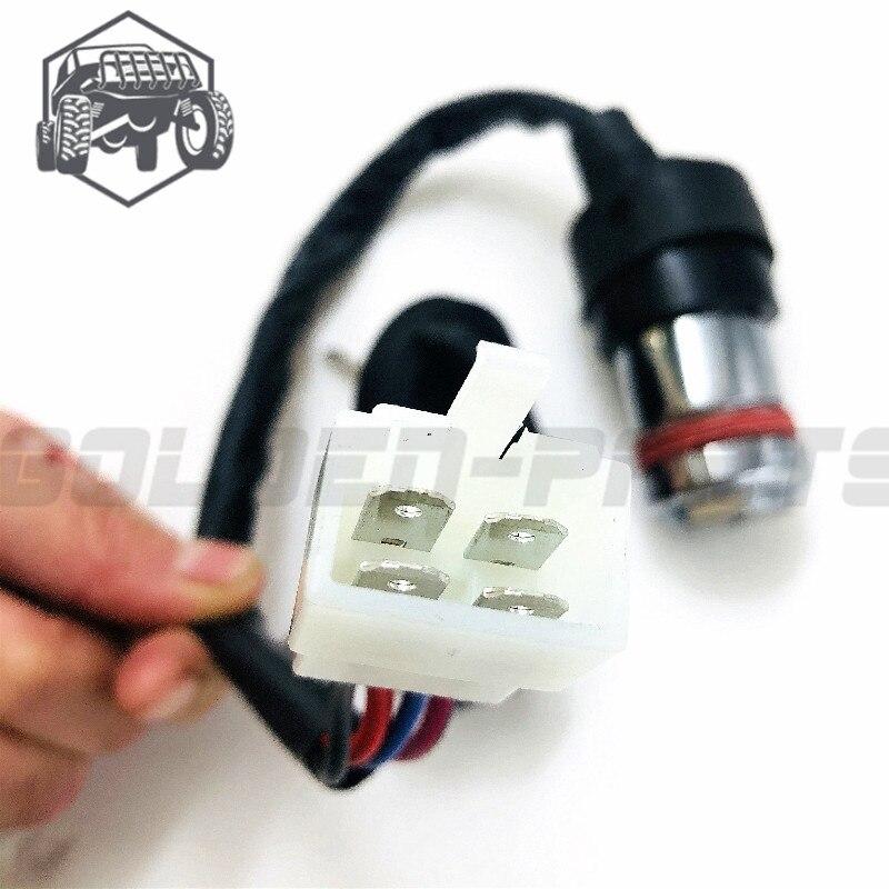 Linhai LH 300 переключатель зажигания с ключом в сборе. Запчасти для ATV UTV
