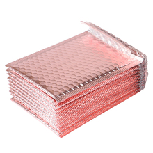 10Pcs 15x20 + 4cm Rose Gold Bubble Envelop Bubble Mailer Voor Gift