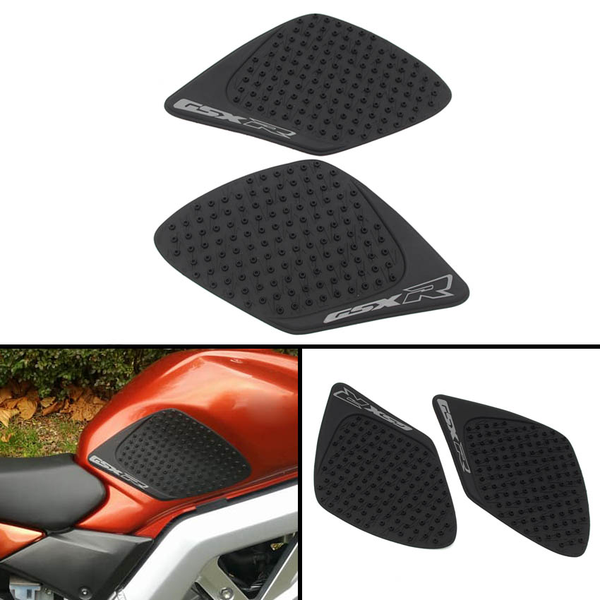 Carrfan Motorcycle Anti slip Tank Pad Sticker Knee Grip Traction Side Pads Fit For Suzuki GSXR1000 2007-2008 K7 GSXR 1000