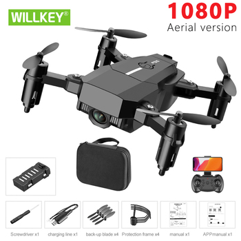 цена Willkey F86 Drone 1080P HD Camera RC Mini Foldable Quadcopter WIFI FPV Selfie Optical Flow Quadcopter RC Helicopter Toy For Kids онлайн в 2017 году