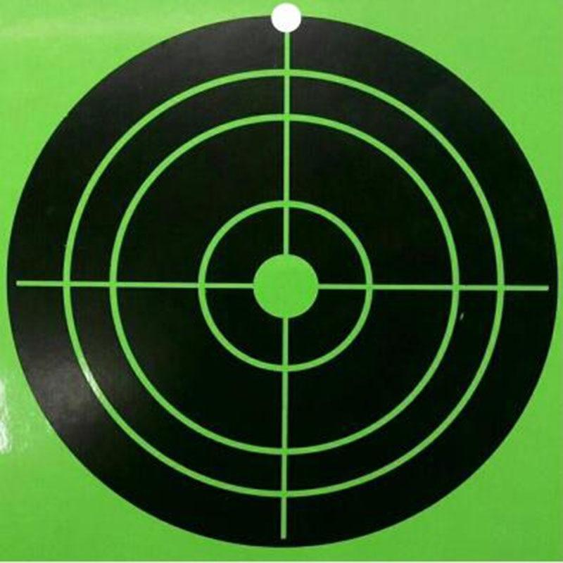 100 PCS Gun Shooting Card Outdoor Airsoft Hunting Splatter Target Set Metal Airsoft Bow Archery Gun Target Paintball Accessories