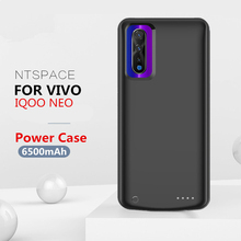 NTSPACE 6500mAh Portable Power Bank Charging Case for VIVO IQOO NEO Battery External Charger Cases