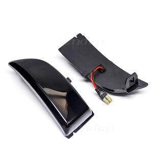 Image 4 - Dinâmico led streamer turno signal sequencial espelho lateral luz para ford everest ranger t6 raptor wildtrak 2015 2016 217 2018 2019