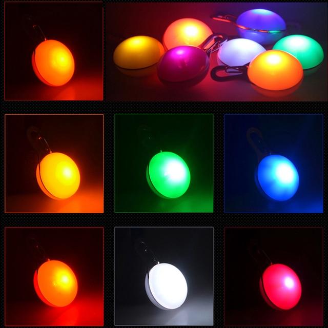 Glowing Pet Pendant LED Dog Collar Lighting For Night Safety  3