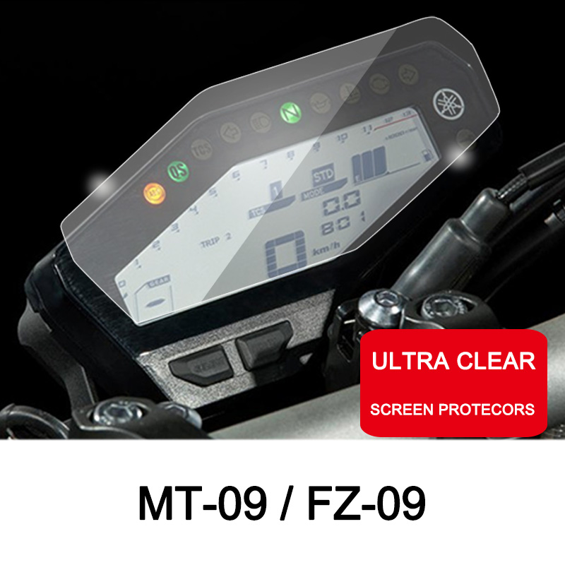 ROAOPP Motorcycle Cluster Scratch Protection Film Cluster Screen Protector For Yamaha MT09 MT 09 MT-09 FZ09 FZ 09 FZ-09