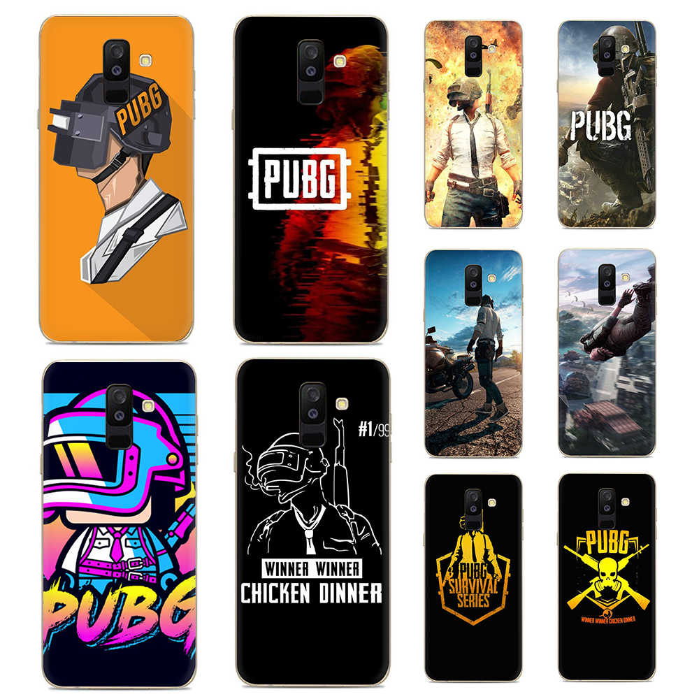 PUBG wallpapers Silicone phone case for Samsung A10s 20s 30s 40s 50s 60 70 Note 10 plus M10 M20 M30 M40