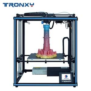 2020 najnowszy projekt 24V Tronxy High Precision X5SA z ekranem dotykowym Auto level DIY zestaw do drukarki 3d w całości z metalu duży rozmiar wydruku