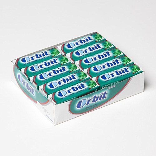 ORBIT SUGAR-FREE CHEWING GUM STRONG MINT