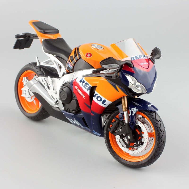1/12 Automaxx Honda CBR1000RR CBR Fireblade Motorcycle Diecasts & Toy Vehicles Scale Racing Bike Models Thumbnails For Kids Boy