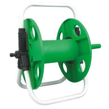 Home Garden Hose Reel Holder Rack Pipe Storage Cart Gardening Water Planting Cart Aluminum Frame Irrigation Supplies - Category 🛒 All Category
