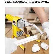 1Set 800W Digital Display Water Pipe Welder Φ20-63mm Plastic Welder Machine Plumber Heating PPR RPV Butt Welding
