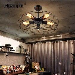52cm retro wentylator sufitowy lampka ze zdalnym sterowaniem niewidoczne chowane wentylatory liść krajem ameryki składane światła salon sypialnia