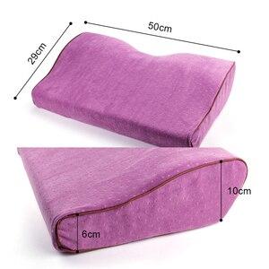 Image 4 - Profesyonel yastık kirpik uzatma salonu greft kirpik uzatma yastık bellek flanel yastık