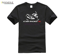 2019 New Fashion Casual Men T-shirt for Japanese Classic Motorcycle  Cb500x Tee Shirt Cb 500 X 500x