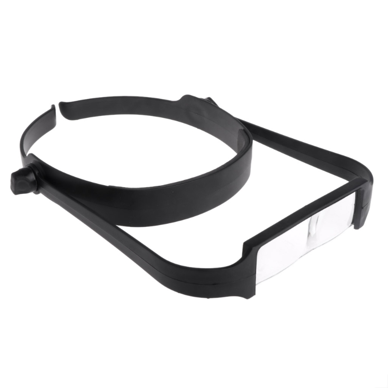 OOTDTY 1.6x 2.0x 2.5x 3.5x Head Headband Replaceable Lens Loupe Magnifier Magnify Glass A5YD