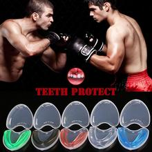 1 комплект, Каратель для рта, защита зубов для бокса, футбола, баскетбола, каратэ, Муай Тай, защита безопасности