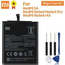 XaioMi מקורי סוללה BN34 BM46 BN41 BN43 עבור XiaoMi Redmi הערה 3 פרו RedMi Note3 RedMi Note4 RedMi Note4X 100% מקורי