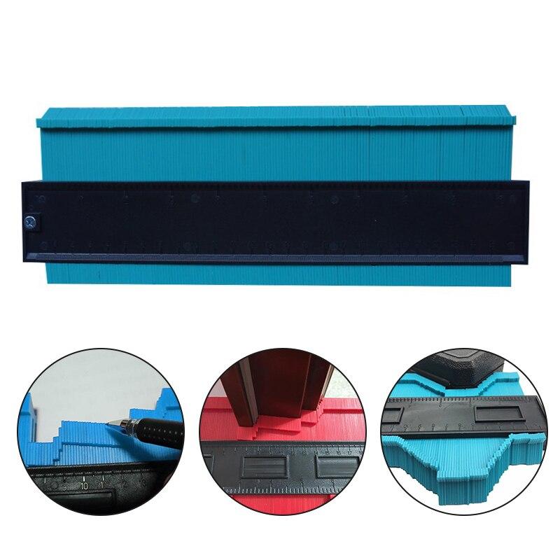 250mm/10 zoll Contour Gauge Standard Holz Kennzeichnung Werkzeug Fliesen Laminat Fliesen Kunststoff Profil Kopie Gauge Duplizierer Mess werkzeug