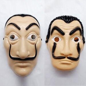 Salvador Dali Money Heist The House of Paper La Casa De Papel Anonymous Cosplay Mask Halloween(China)