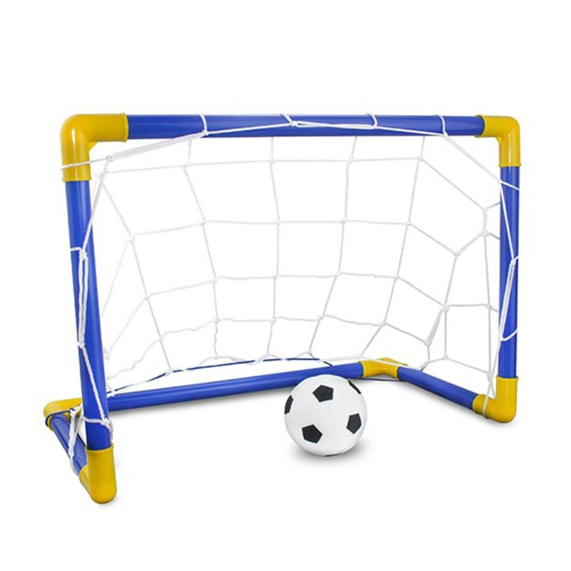 Football Goal Toy Set Kids Soccer Goal Pool Set for Toddler Boys and Girls 3+ Kids Ball Toy