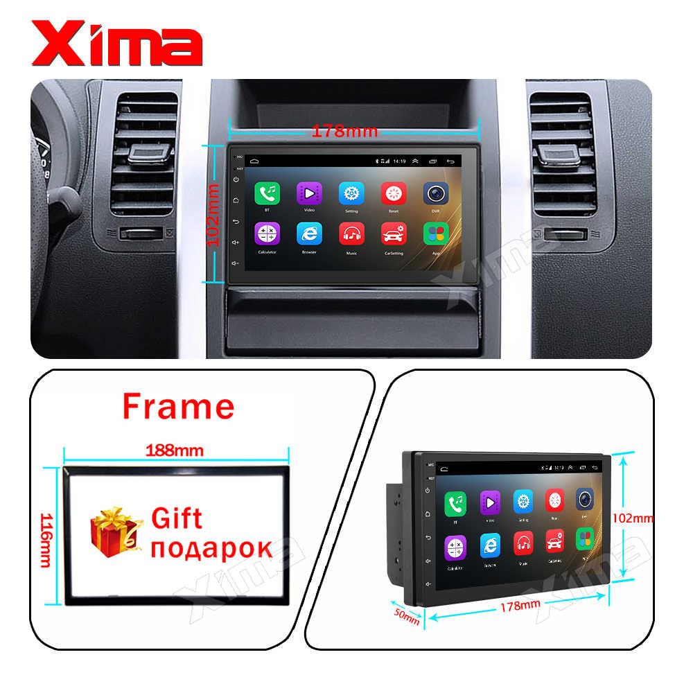 "XIMA Android9.0 2Din araba radyo multimedya oynatıcı 7 ""evrensel RAM2G GPS navigasyon ses çalar Nissan Toyota Hyundai Polo"