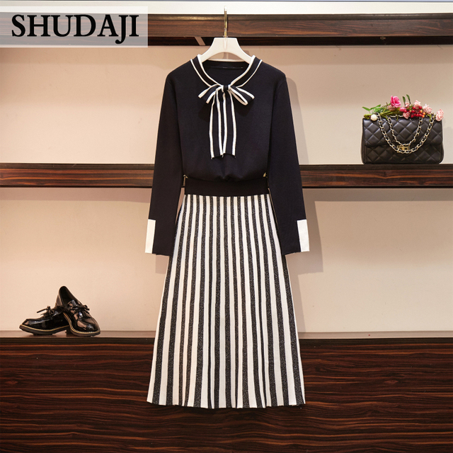 Suit skirt two-piece for women 4
