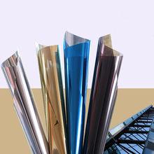Stickers Mirror Insulation Window-Film Glass Privacy-Decoration Tint Reflective Solar