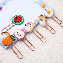 Cute Animal Paper Clips Funny Paperclips Bookmarks Planner Clips for Fun Office Supplies School Gifts Paper Clips