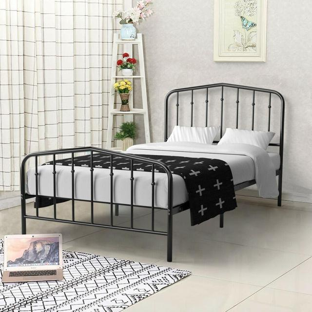 Twin Size Metal Bed Frame  3