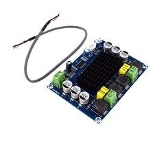 TPA3116D2 TPA3116 podwójny kanał Stereo wysokiej mocy dźwięk cyfrowy płyta wzmacniacza zasilania 2x120W Amplificador moduł DIY XH M543
