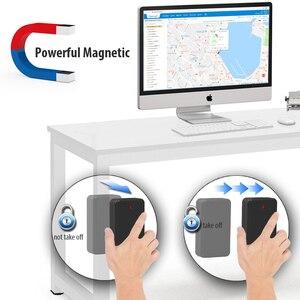 Image 2 - Jimi at4 gps tracker with10000mah bateria forte ímã monitoramento de voz através da plataforma app 2g gms gps localizador para veículo bicicleta