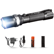 Brand YAGE 336C CREE XP-E LED Flashlight Aluminum Waterproof Zoomable Self defense Torch Light with1*18650 Battery +car charger