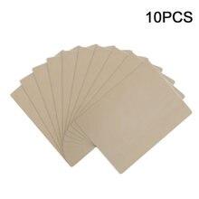 10 unidades/pacote preto branco em branco prática inkless trainning microblading iniciante tatuagem suppiles sobrancelha rosto pele semi permanente
