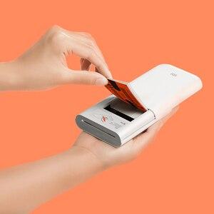 Image 3 - Carta fotografica adesiva con stampa tascabile Xiaomi 50 fogli imaging monouso senza inchiostro stampa carta fotografica di alta qualità 3 pollici