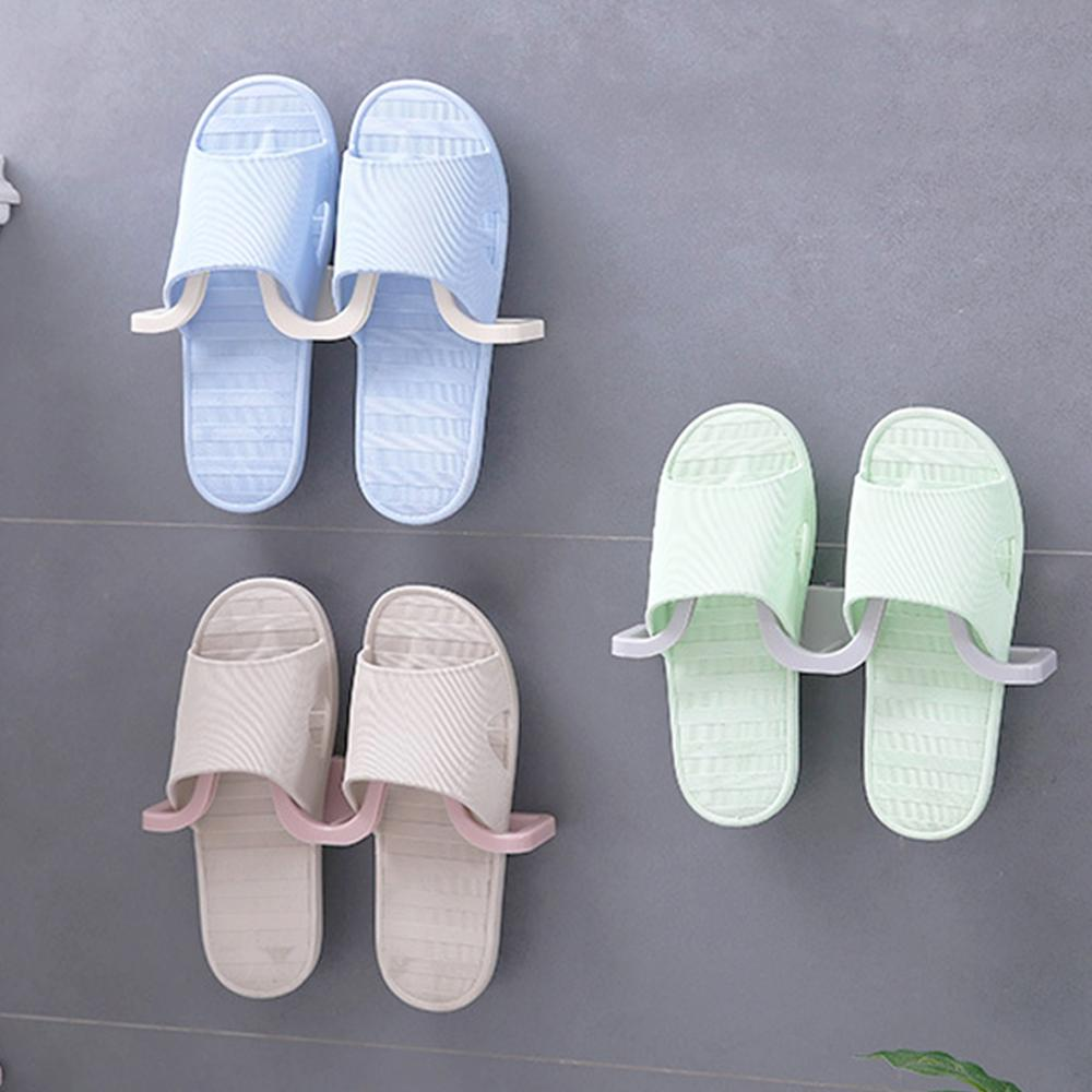 Wall Mounted Hanging Shoe Organizer used to Hang All Types of Shoes and Slippers to Save Space 2