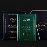 2020 Agendas Planner A5 Diary Notebook Personal Business Travel Plan Note Book School Office Supplies Stationary Organizer Gift