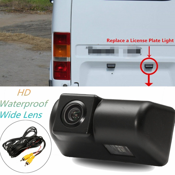 Wireless CCD HD Auto Car Rear View Camera Reverse Parking Backup Waterproof Night Vision Monitor For Ford Transit Connect