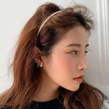 1 шт элегантная имитация жемчуга обруч для волос модная повязка