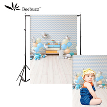 Beebuzz photo backdrop color balloon indoor children style photography background baby