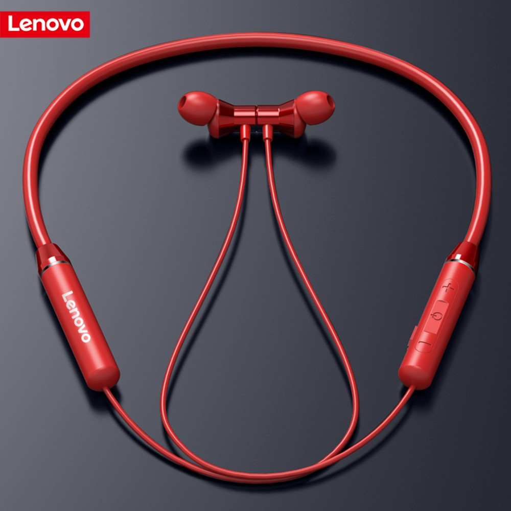 Lenovo Wireless Bluetooth Earphone Headphones Magnetic Sports Running Headset Earplug Waterproof Sport Earphones Noise Canceling|Bluetooth Earphones & Headphones|   - AliExpress