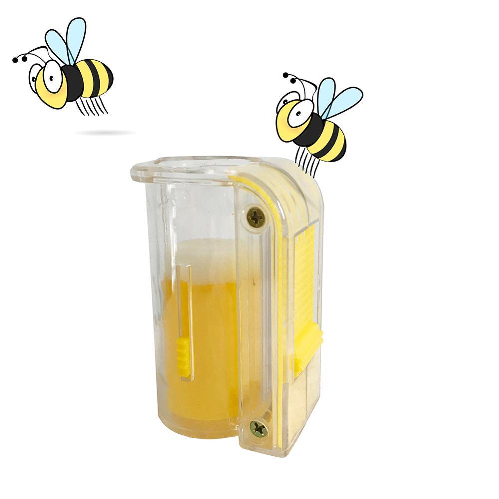 Bee Queen Marking Marker Cage Bottle Plunger Push Beekeeping Beekeeper Kits Tool